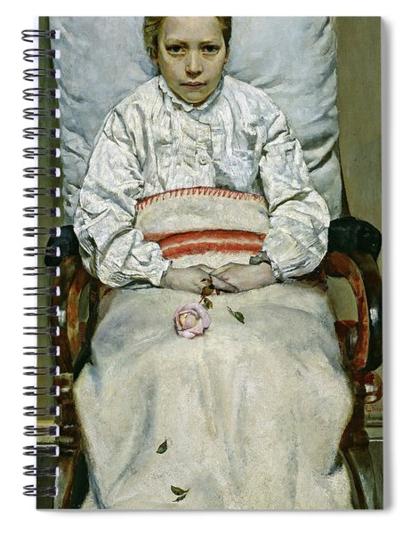 Sick Girl, 1881 Spiral Notebook