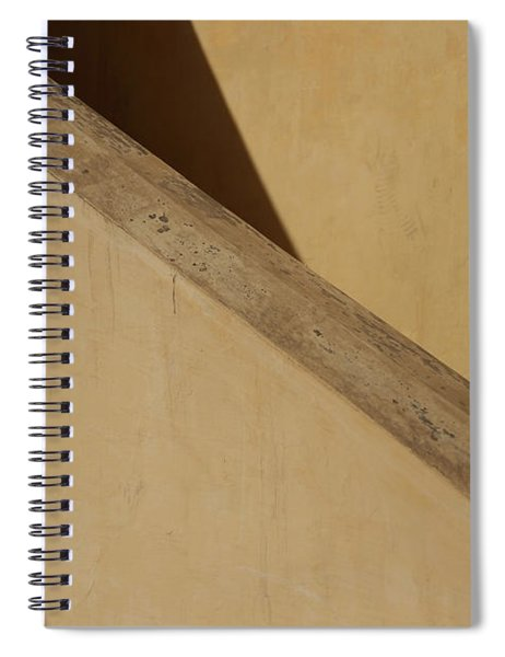 Siderail Diagonal  Spiral Notebook