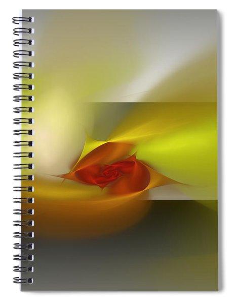 Signals Through The Flames Spiral Notebook