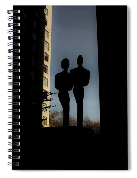 Sihlouette Spiral Notebook