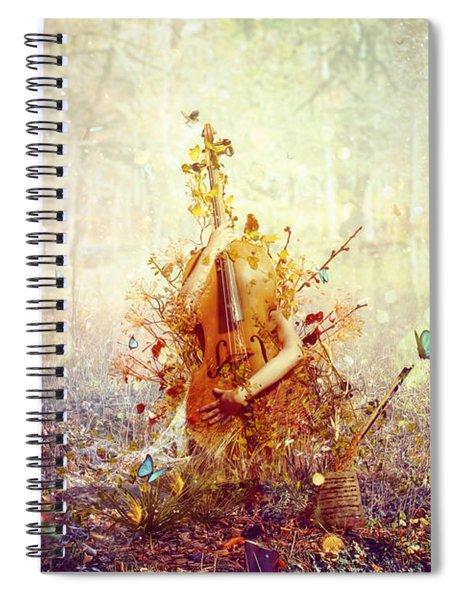 Silence Spiral Notebook
