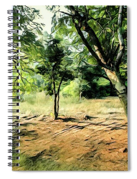 Silence Of Forest Spiral Notebook