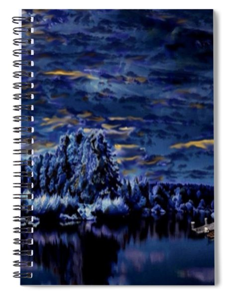 Silent Moments Spiral Notebook