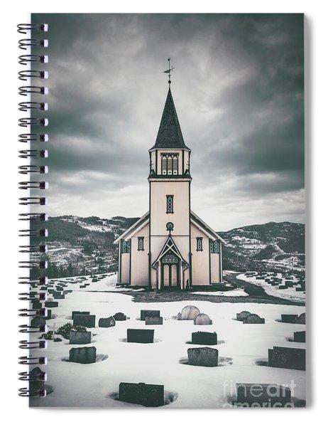 Silent Prayers Spiral Notebook