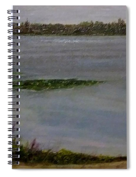 Silver Lake During The Wildfires Spiral Notebook