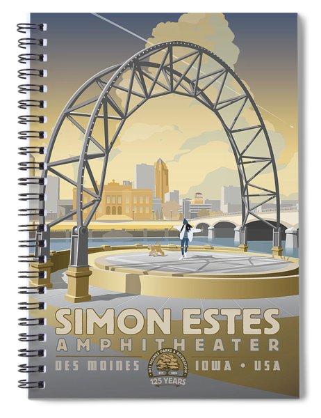 Simon Estes Amphitheater Spiral Notebook