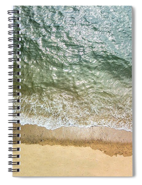 Simple Beach Waves Spiral Notebook