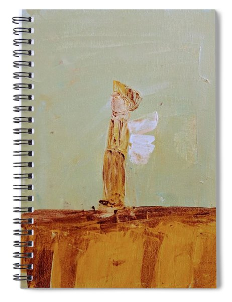 Simply Sweet Angel Boy Spiral Notebook