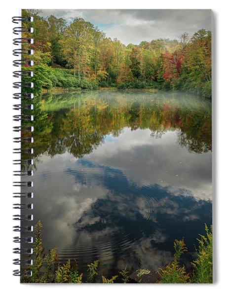 Sims Pond Blowing Rock North Carolina Spiral Notebook