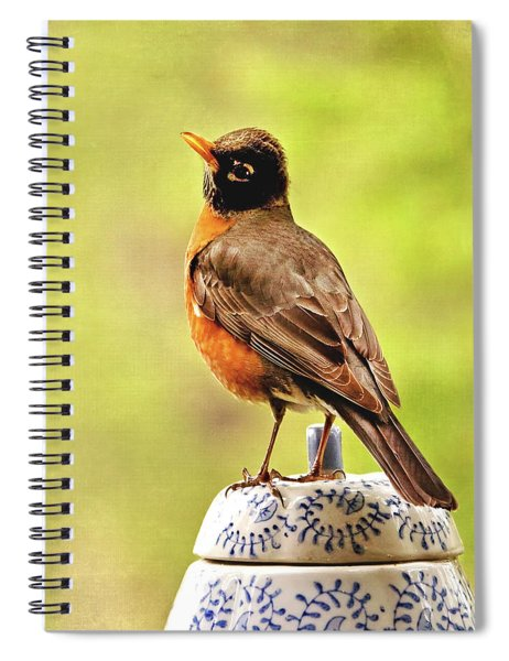 Singing For Cookies Spiral Notebook
