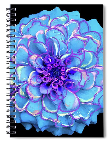 Singing The Blues Spiral Notebook