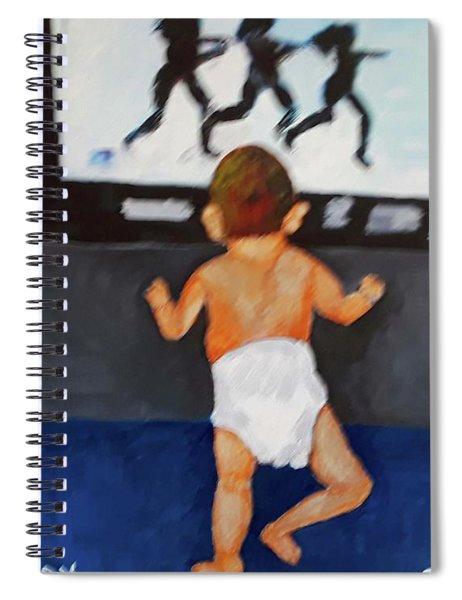 Single Lady Spiral Notebook
