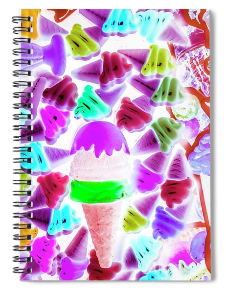 Sinking Into Sweet Uncertainty Spiral Notebook