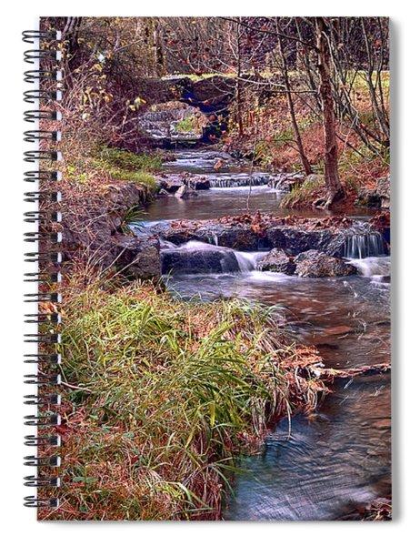 Sinoquippie Run Spiral Notebook