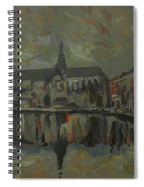 Sint Bavo Church Haarlem Spiral Notebook