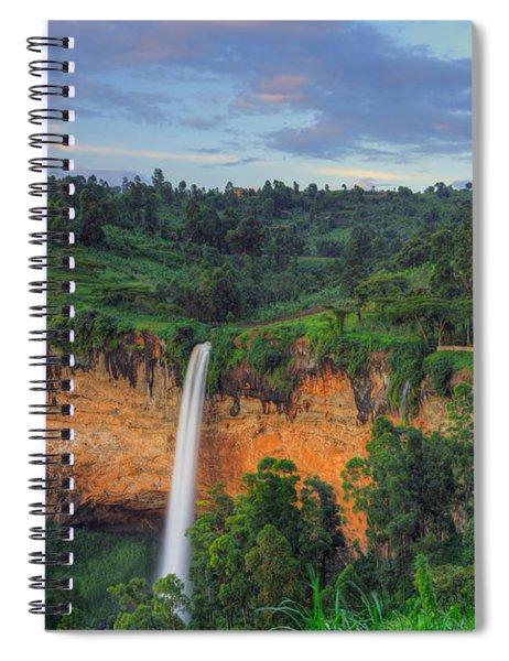 Sipi Falls Spiral Notebook