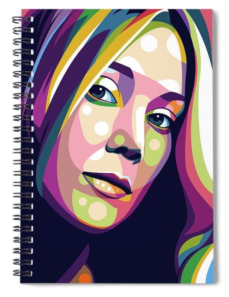 Sissy Spacek Spiral Notebook