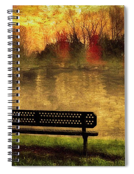 Sit And Admire Spiral Notebook
