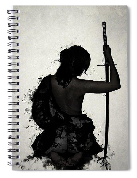Female Samurai - Onna Bugeisha Spiral Notebook