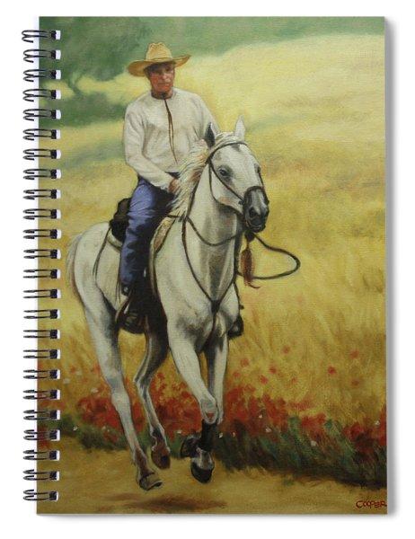 Six Feet Off The Ground Spiral Notebook