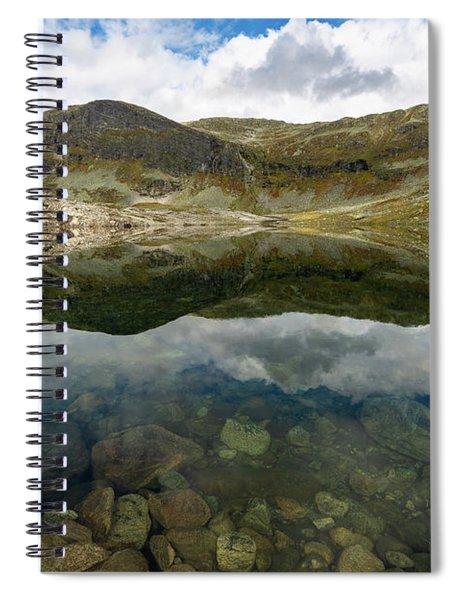 Skarsvotni, Norway Spiral Notebook