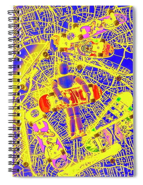 Skate City Spiral Notebook