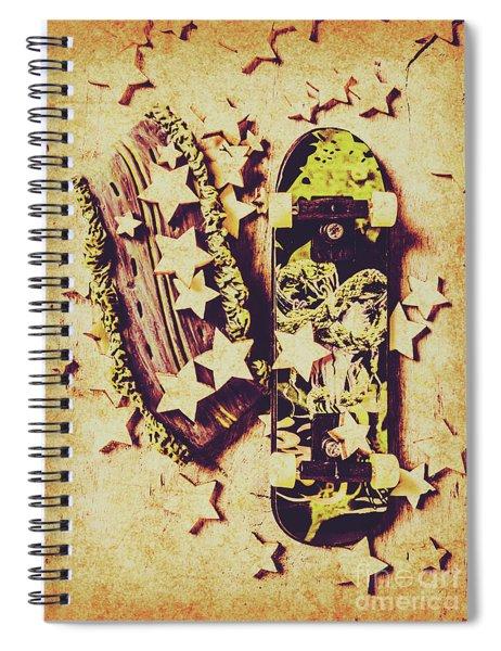 Skate Star Sponsorship Spiral Notebook