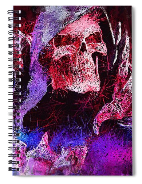 Skeletor Spiral Notebook