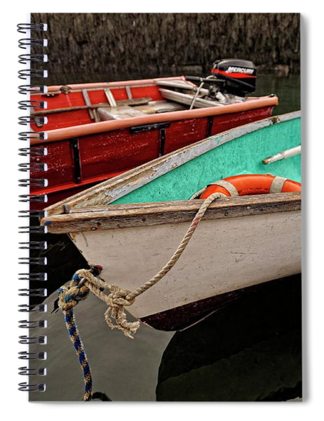 Skiffs Spiral Notebook