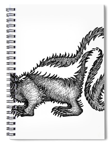 Skunk Spiral Notebook