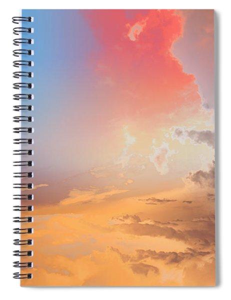 Sky Fight Spiral Notebook