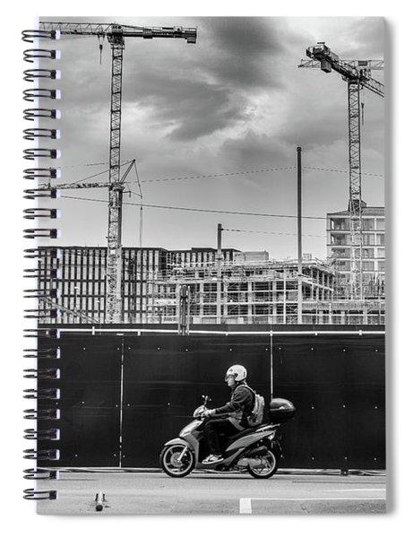Sky Full Of Cranes Spiral Notebook