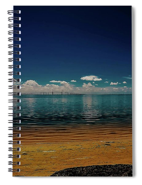Sky Way Spiral Notebook