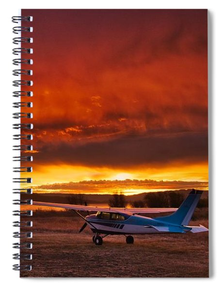 Skylane Sunrise Spiral Notebook