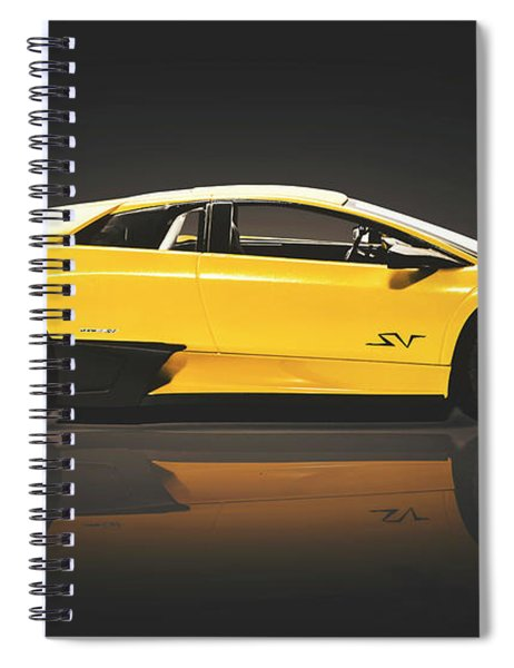 Sleek Spiral Notebook