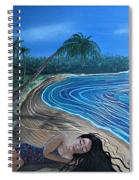 Sleeping Beauty Spiral Notebook