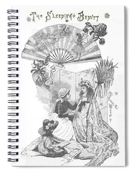 Sleeping Beauty Part One Spiral Notebook
