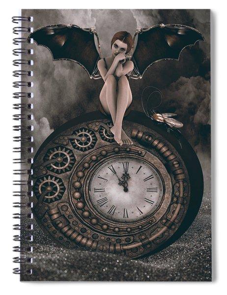 Sleeping Not Spiral Notebook