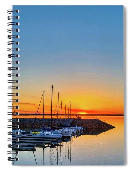 Sleeping Yachts Spiral Notebook