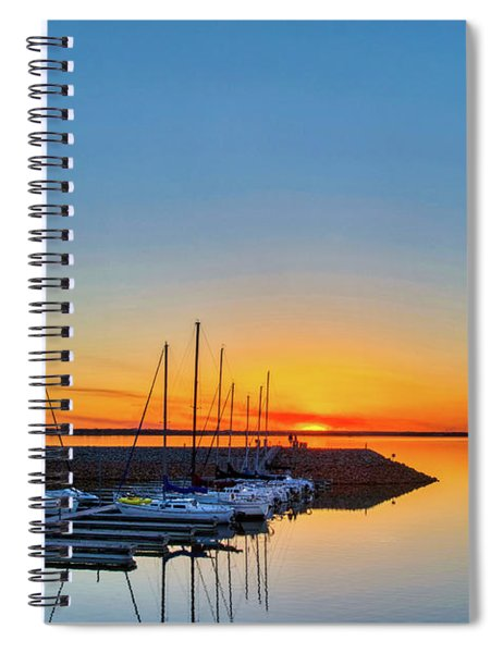 Sleeping Yachts Spiral Notebook