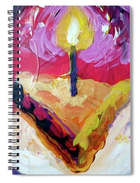 Slice Of Pie Spiral Notebook
