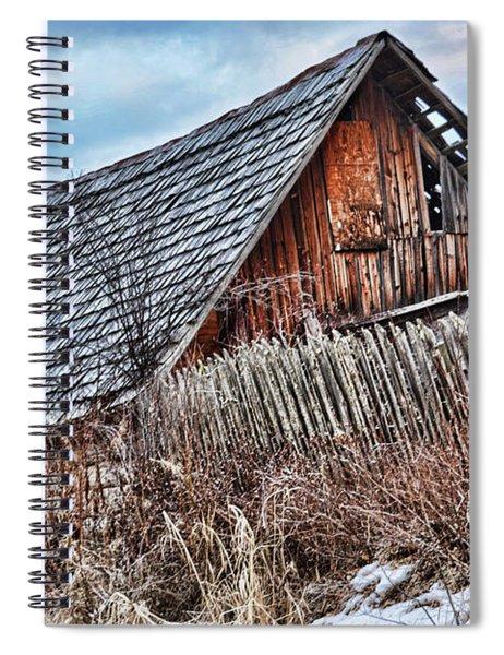 Slippery Slope Spiral Notebook