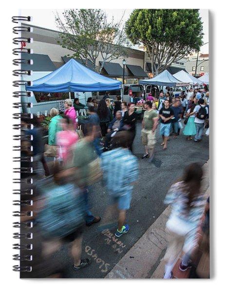Slo Farmers Market Spiral Notebook