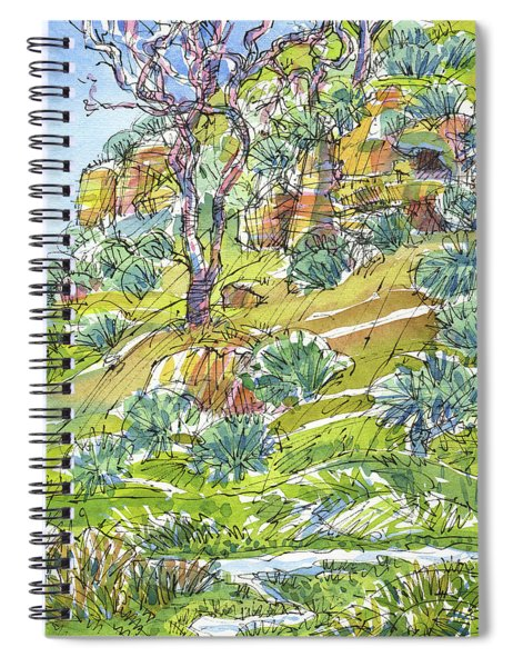 Slope With Cliffs Spiral Notebook