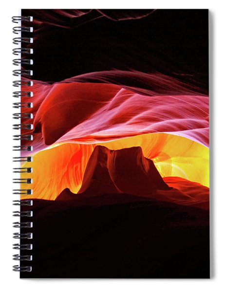 Slot Canyon Mountain Spiral Notebook