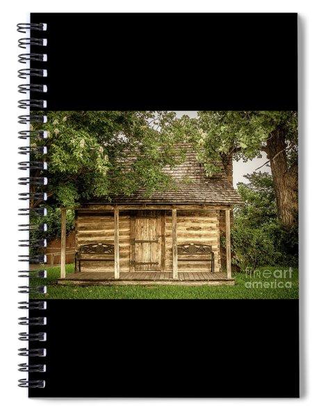 Small Log Cabin   Spiral Notebook