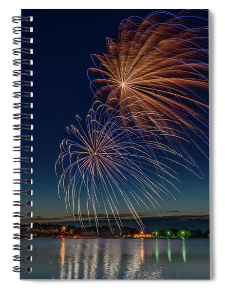 Small Town 4th Spiral Notebook