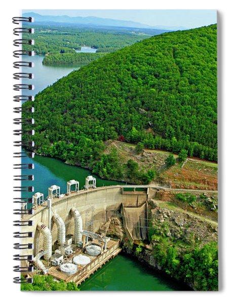 Smith Mountain Lake Dam Spiral Notebook