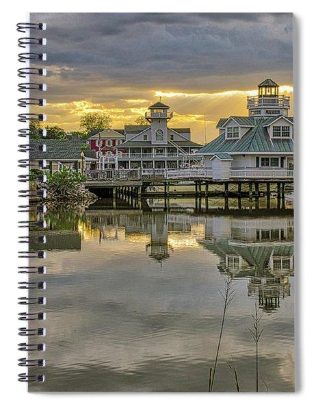 Smithfield Station With God-light Spiral Notebook