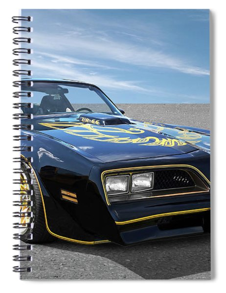 Smokey And The Bandit Trans Am Spiral Notebook